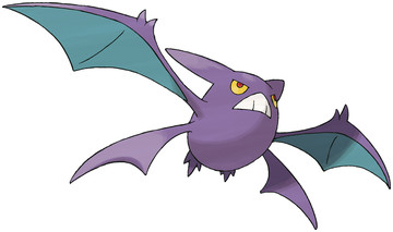 Crobat artwork by Ken Sugimori