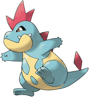 Croconaw Sugimori artwork