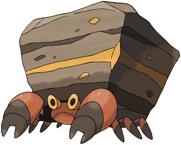 Pokemon Crustle Evolution Crustle Pokédex: ...