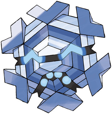 Cryogonal artwork by Ken Sugimori