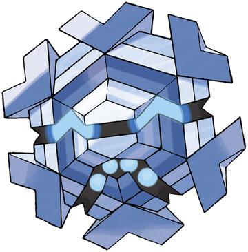 Cryogonal artwork by Ken Sugimori