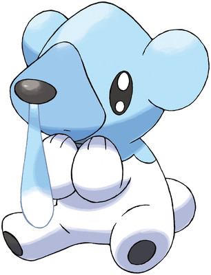 Cubchoo artwork by Ken Sugimori