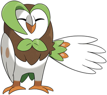 Dartrix artwork by Ken Sugimori