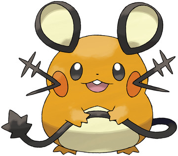 Dedenne artwork by Ken Sugimori