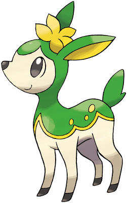Deerling Sugimori artwork