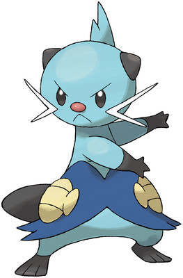Dewott artwork by Ken Sugimori