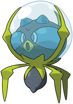 Dewpider artwork by Ken Sugimori