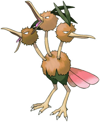 Dodrio artwork by Ken Sugimori