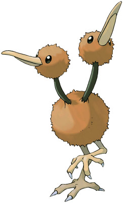 Doduo artwork by Ken Sugimori