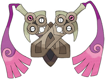 Doublade artwork by Ken Sugimori