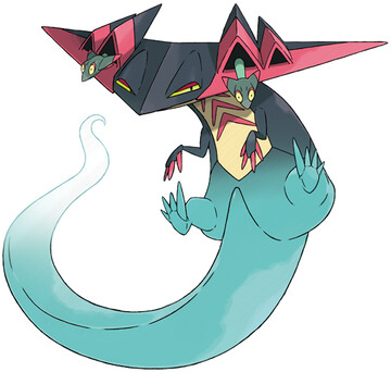 Dragapult artwork by Ken Sugimori