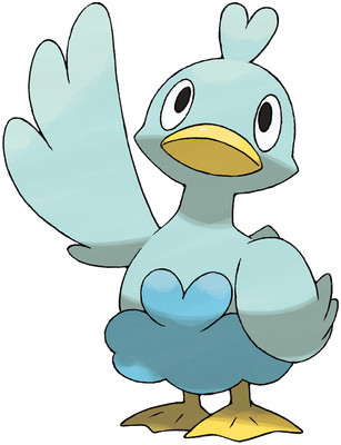 Ducklett artwork by Ken Sugimori
