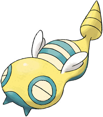 Dunsparce artwork by Ken Sugimori