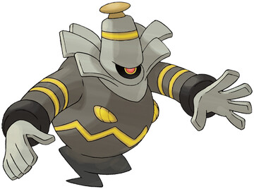Dusknoir artwork by Ken Sugimori