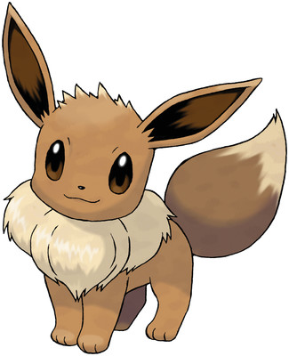 Eevee artwork by Ken Sugimori