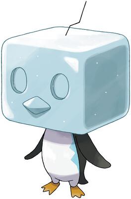 Eiscue (Ice Face) artwork by Ken Sugimori