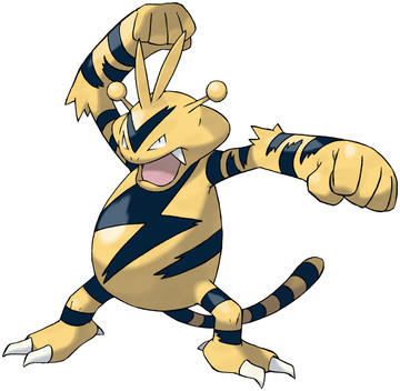 Electabuzz artwork by Ken Sugimori
