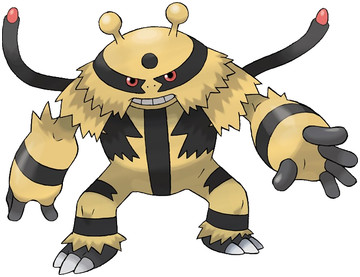 Electivire artwork by Ken Sugimori