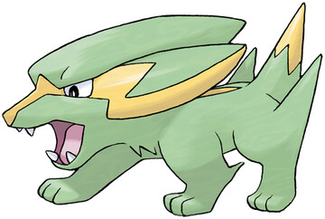 Electrike Sugimori artwork