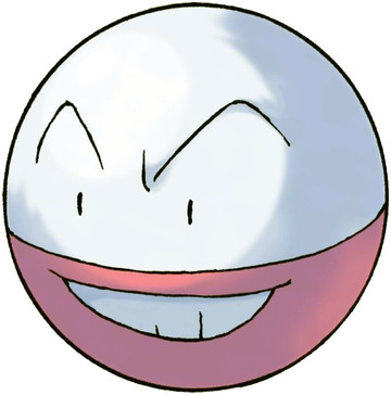 Electrode artwork by Ken Sugimori