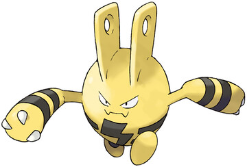 Elekid artwork by Ken Sugimori