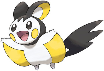 Emolga artwork by Ken Sugimori