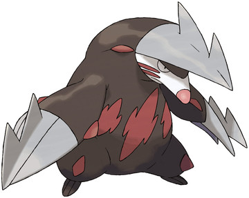 Excadrill artwork by Ken Sugimori
