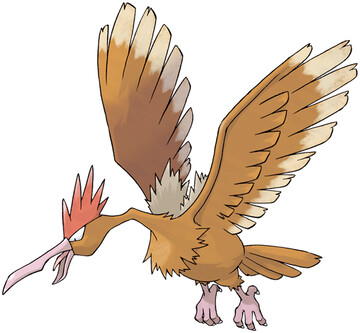 Fearow artwork by Ken Sugimori