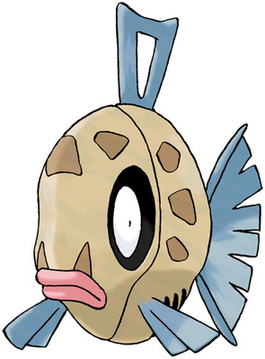 Feebas artwork by Ken Sugimori