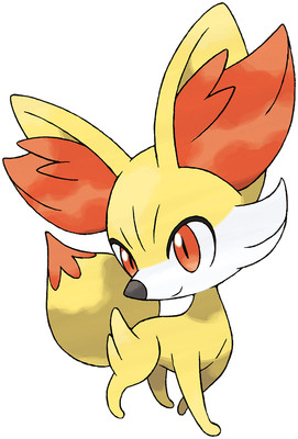 Fennekin artwork by Ken Sugimori