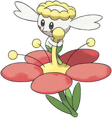 Flabébé artwork by Ken Sugimori