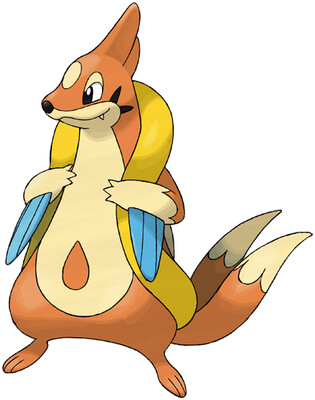 Floatzel artwork by Ken Sugimori