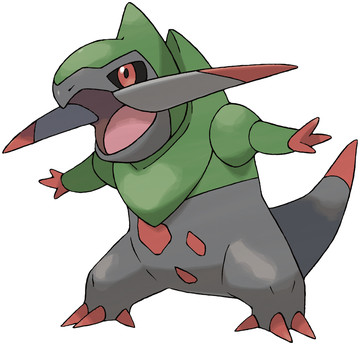 Fraxure artwork by Ken Sugimori