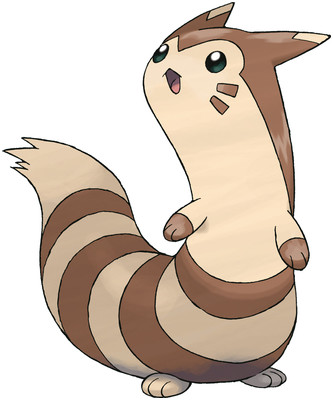 Furret artwork by Ken Sugimori
