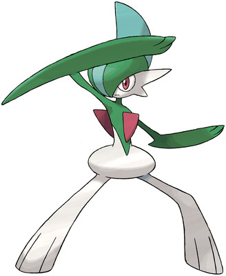 Gallade artwork by Ken Sugimori