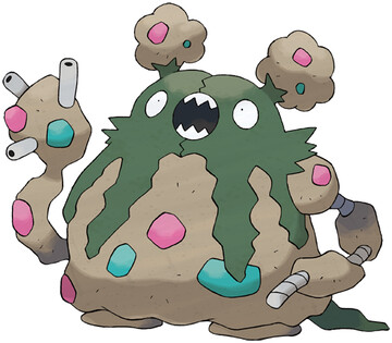 Garbodor Sugimori artwork