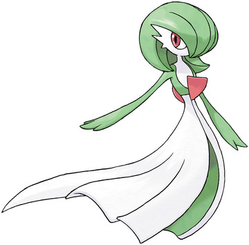 Gardevoir artwork by Ken Sugimori