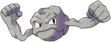 Geodude artwork by Ken Sugimori