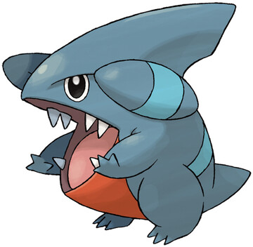 Gible artwork by Ken Sugimori