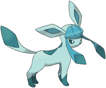 Glaceon artwork by Ken Sugimori