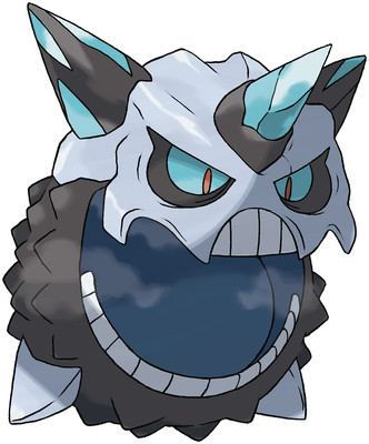 Mega Glalie artwork by Ken Sugimori