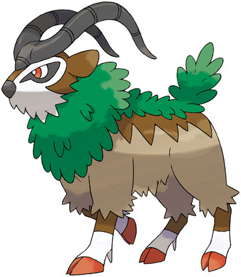 Gogoat artwork by Ken Sugimori