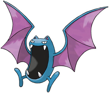 Golbat artwork by Ken Sugimori