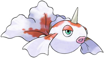 Goldeen artwork by Ken Sugimori