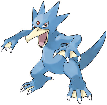 Golduck artwork by Ken Sugimori