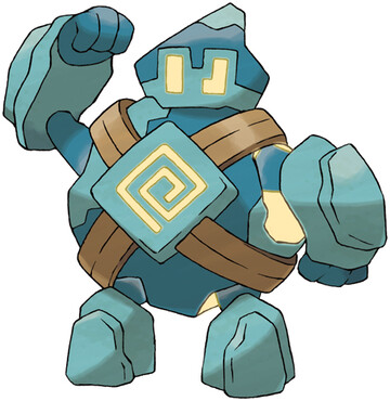 Golett artwork by Ken Sugimori