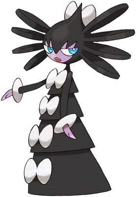 Gothitelle artwork by Ken Sugimori