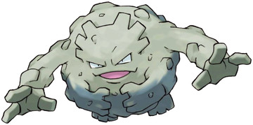 Graveler artwork by Ken Sugimori