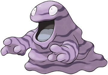 Grimer artwork by Ken Sugimori