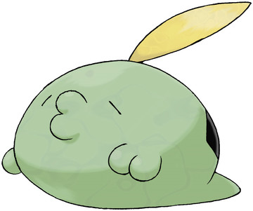 Gulpin artwork by Ken Sugimori